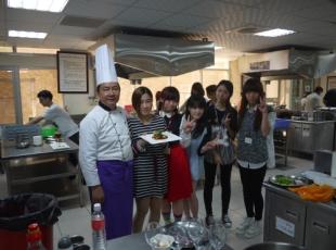 中餐教室製作及享用台南美食