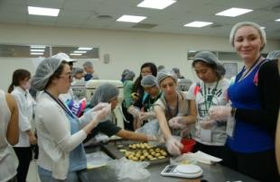 以色列師生來訪-中餐教室製作