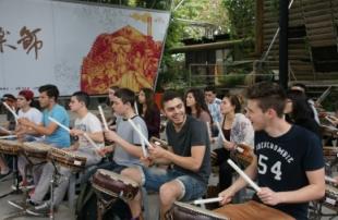 以色列師生來訪-十鼓文創園區