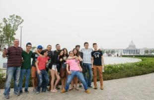 以色列師生來訪-奇美博物館